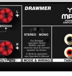 Студийный усилитель Drawmer MPA90 и CPA50