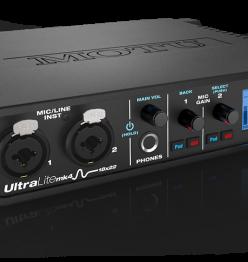 Новый USB аудио интерефейс от компании MOTU